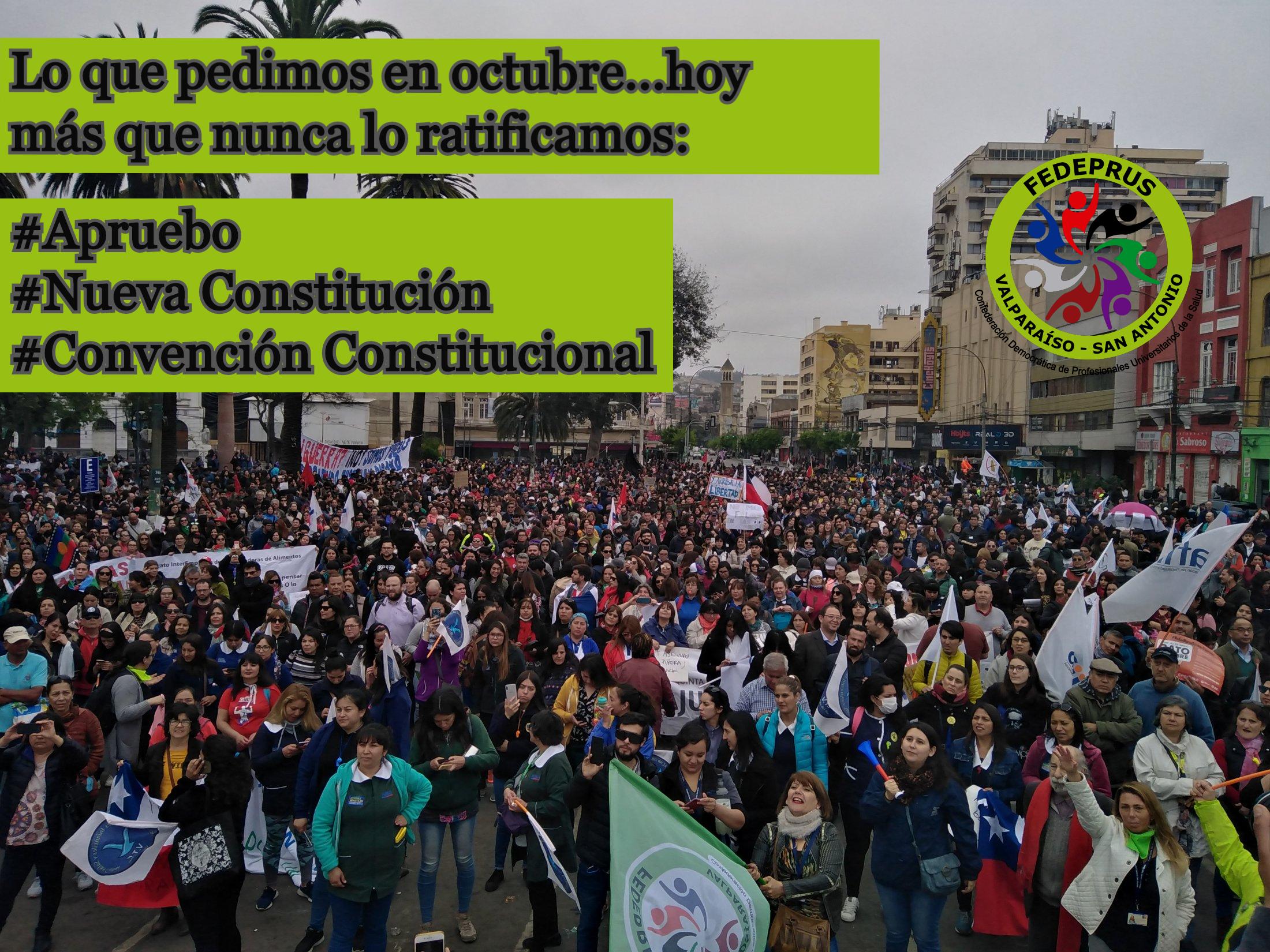 Por una nueva Constitución para una nueva Salud: APRUEBO