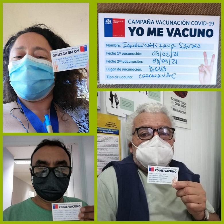 Fedeprus VSA valida proceso de vacunación