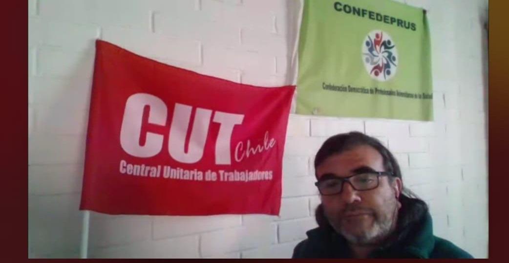 Eleccciones CUT, con representante Fedeprus VSA