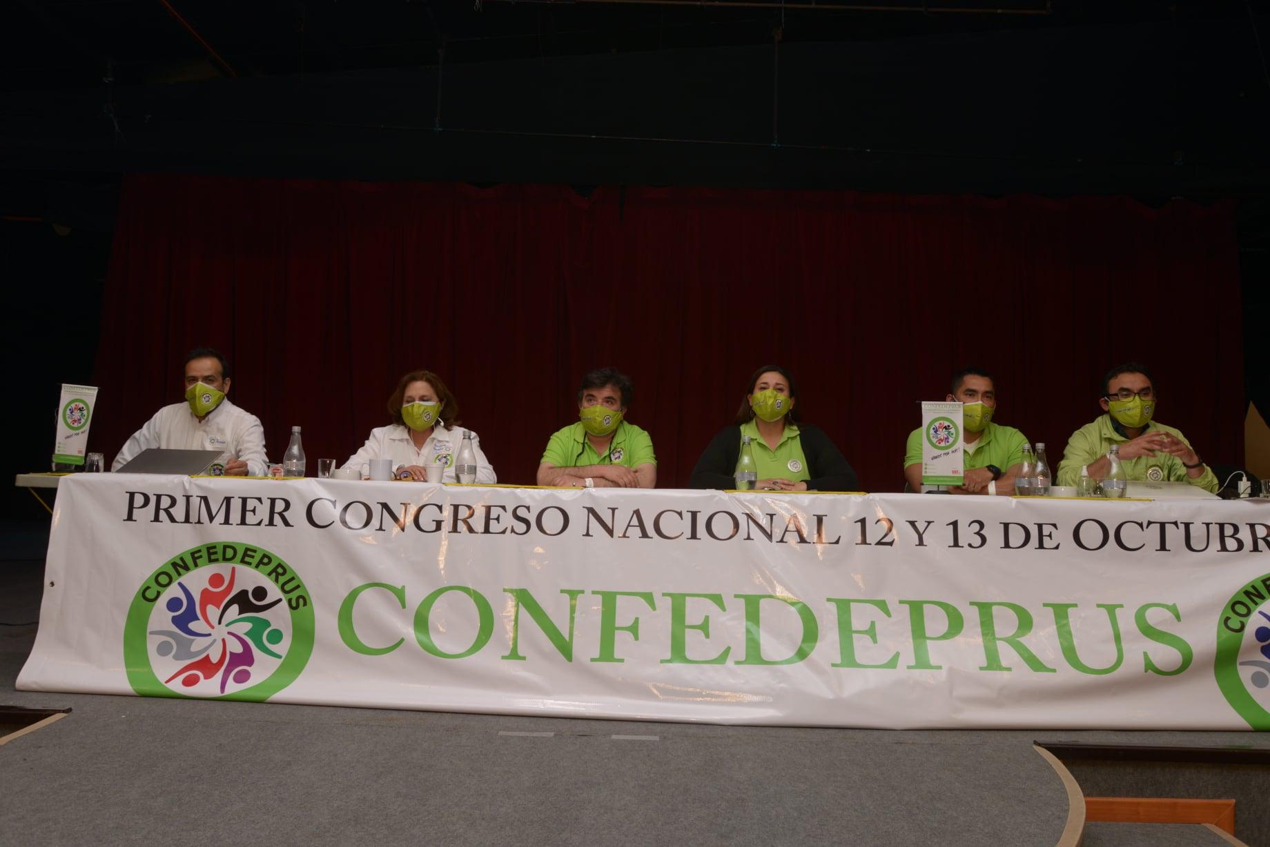Confedeprus realizó Congreso Nacional en formato presencial y virtual